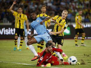 Xem Man City của Guardiola hạ Dortmund trên chấm 11 mét