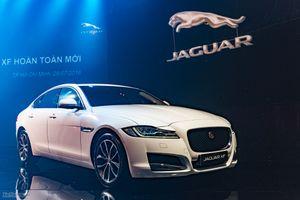 Jaguar XF 2016 ra mắt - sedan hạng sang cỡ trung, 2 tùy chọn động cơ, có bản AWD