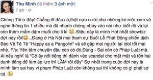 Thu Minh nói gì khi bị tố cùng chồng đại gia lừa gạt, trốn nợ?
