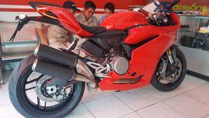 Ducati 959 Panigale bản Thái Lan về Việt Nam giá 592 triệu đồng