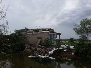 Nam Định thiệt hại nặng nề sau cơn bão số 1
