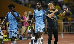 Guardiola có chiến thắng đầu tiên với Man City