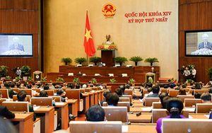 Hôm nay, Quốc hội khóa XIV họp phiên bế mạc Kỳ họp thứ Nhất