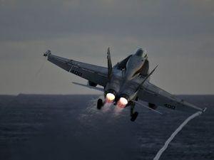 Máy bay quân sự Mỹ rơi trong khi huấn luyện, phi công thiệt mạng