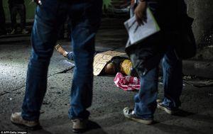 Điểm lạ của 300 tội phạm bị giết trên phố ở Philippines