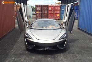 """Cường Đô La lại """"vung tiền"""" tậu siêu xe McLaren bạc tỷ"""