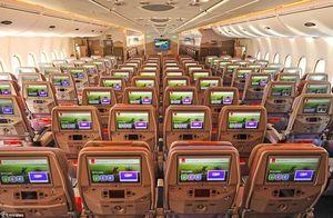 Bên trong máy bay của hãng hàng không tốt nhất thế giới