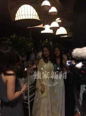Lâm Tâm Như, Hoắc Kiến Hoa mở tiệc lớn đón dàn sao dự lễ cưới
