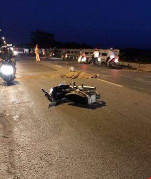 Đang chạy xe, phụ nữ ngã ra đường tử vong