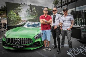 Ban nhạc rock Linkin Park thiết kế xe đua Mercedes-AMG GT3