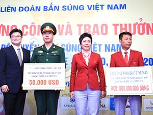 Hoàng Xuân Vinh dùng 5 tỷ đồng tiền thưởng xây trường bắn?