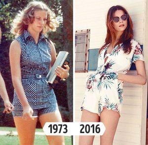 Thời trang thời các bà, các mẹ giờ thành hot-trend