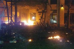 Lại nổ bom gần khách sạn ở Thái Lan gây thương vong lớn