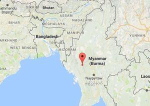 Động đất 6,8 độ Richter rung chuyển miền Trung Myanmar