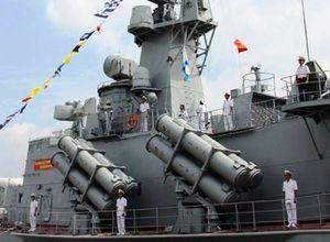 Tổ chức nghiệm thu 2 chiến hạm hiện đại