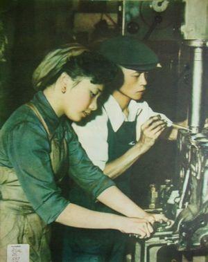 """Ảnh màu """"hoàn hảo"""" về miền Bắc Việt Nam thập niên 1960"""