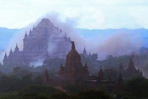 200 chùa cổ thánh địa Bagan bị hủy hoại sau động đất Myanmar