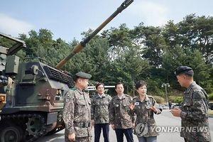 Triều Tiên phóng tên lửa, Tổng thống Hàn lên biên giới