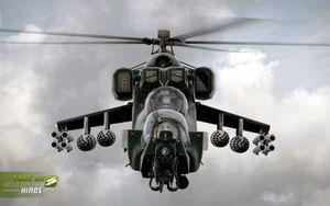 """Khiếp đảm hình dạng """"xe tăng bay"""" Mi-24 của…Nam Phi"""