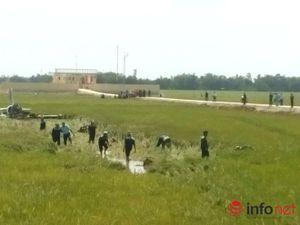 Rơi máy bay quân sự tại Phú Yên, một học viên phi công đã hy sinh