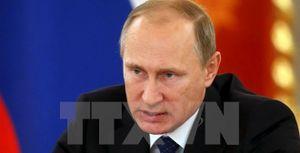 Tổng thống Nga Vladimir Putin ký sắc lệnh sa thải 8 tướng lĩnh