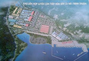 Xây dựng khu luyện cán thép 16 triệu tấn/năm tại Ninh Thuận