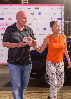 Bi Rain cùng dàn sao Việt đến sân khấu Hoa hậu tổng duyệt