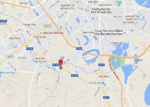 Hai nhóm giang hồ chém nhau gần khu đô thị Đại Thanh