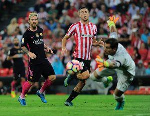 Messi, Suarez kém duyên, Barca suýt mất điểm tại xứ Basque