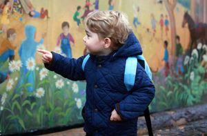 Ảnh hoàng tử, công chúa trong ngày đầu tiên tới trường