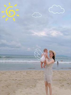 Khánh Ly hạnh phúc khoe chuyến đi chơi đầu tiên của con trai