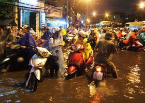 TP Hồ Chí Minh quyết liệt xử lý tình trạng ngập lụt do mưa ngay trong tháng 9