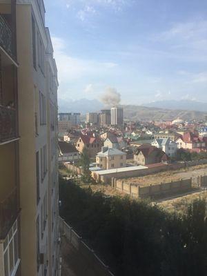 Nổ lớn ở đại sứ quán Trung Quốc tại Kyrgyzstan