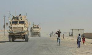Hình ảnh thị trấn Qayyara sạch bóng phiến quân IS