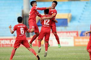 Thắng Nam Định, Viettel còn cách V.League 1 trận đấu