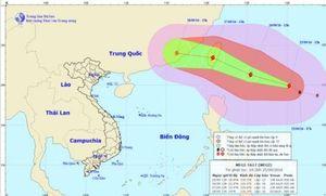 Tin mới nhất về cơn bão MEGI trên biển Đông