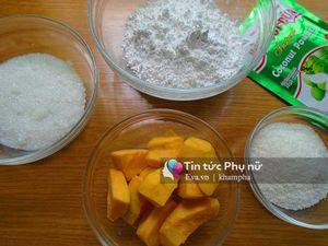 Bánh bột lọc phủ dừa thơm ngon thanh mát