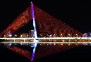 Cảnh sắc tuyệt đẹp khi về đêm của Thành phố Ánh Sáng
