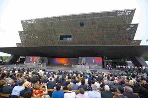 Tổng thống Obama khánh thành bảo tàng lịch sử Mỹ - Phi