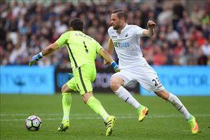 Những điểm nhấn sau chiến thắng của Man City trước Swansea