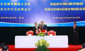 Việt Nam hợp tác Trung Quốc phòng chống tội phạm