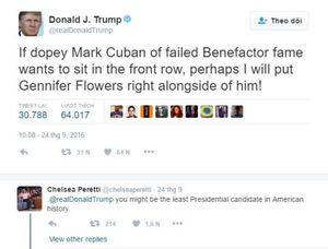 Ông Trump khoét sâu nỗi buồn quá khứ của bà Hillary