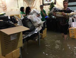 Biệt thự của Mr Đàm ngập nặng sau trận mưa 'lịch sử'