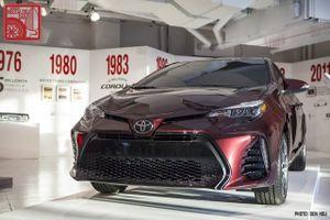 Phiên bản Toyota Corolla 2017 mừng tuổi 50 ra mắt