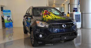 SsangYong Korando 2016, đối thủ Mazda CX-5 giá 937 triệu đồng tại VN