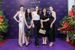 Dàn siêu mẫu lộng lẫy dự khai trương chi nhánh mới Lilia Spa