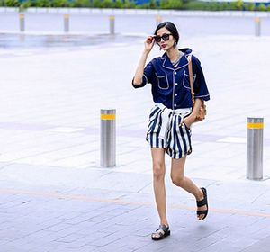 Họa tiết kẻ sọc được lòng người đẹp Việt