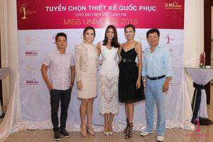 Phạm Hương chọn trang phục cho đại diện Việt Nam tại Miss Universe