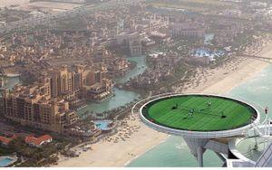 Mãn nhãn với khách sạn 7 sao siêu xa xỉ ở Dubai