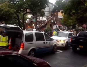 Hiện trường nổ lớn ở New York, nhiều người bị thương